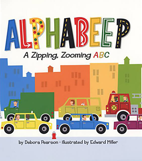 Alphabeep: A Zipping, Zooming ABC book